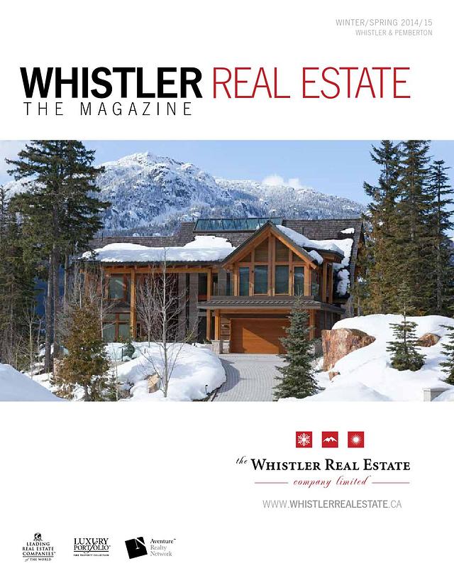 whistler real estate sales